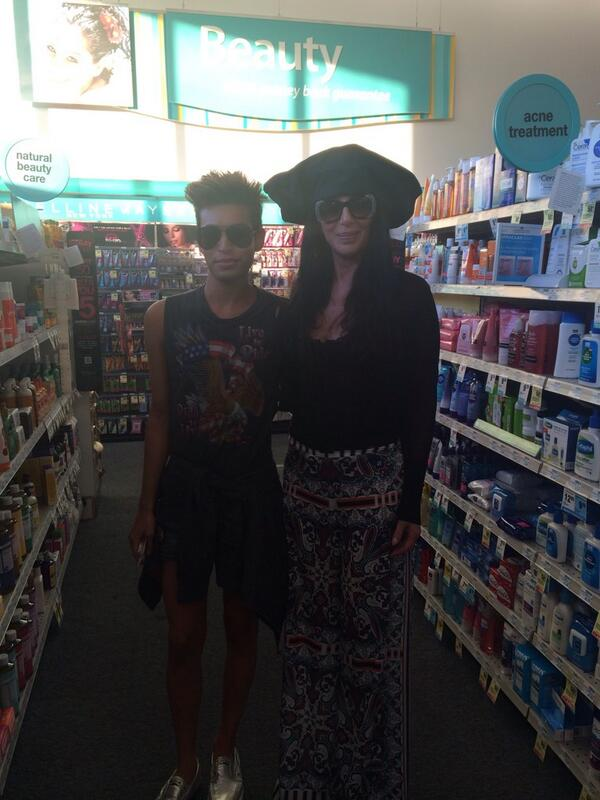 Me and fucking CHER casually in the acne treatment aisle at CVS just now ✋
