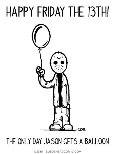 We hope all you ghouls & goblins are excited that tomorrow is Friday the 13th! Happy day of #horror! http://t.co/wqt5SVSkj9