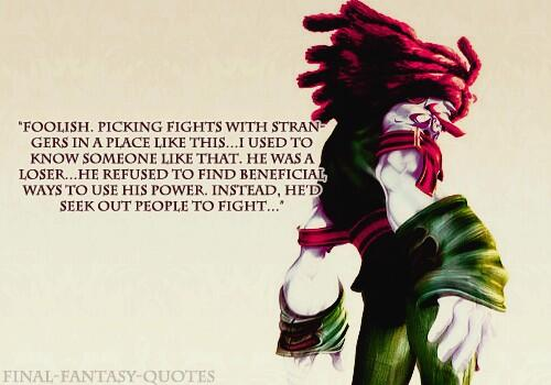 Final Fantasy Quotes on Twitter: \