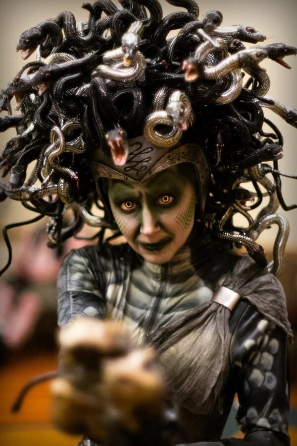 Angie Hill on Twitter  My #Medusa costume from @WCHauntCon and #Crypticon 2014 //t.co/YoHKyTPDPZ   sc 1 st  Twitter & Angie Hill on Twitter: