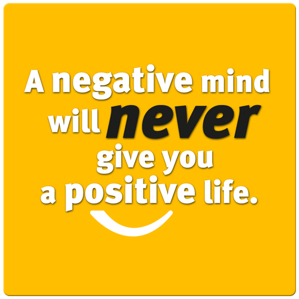 A negative mind will NEVER give you a positive life. #etiqa http://t.co/0aMMyHps1p