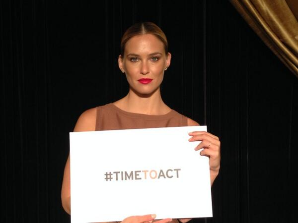 Israeli supermodel @BarRefaeli joins the campaign to end sexual violence in conflict. Will you join her?  #TimetoAct http://t.co/6LZz3anfPo
