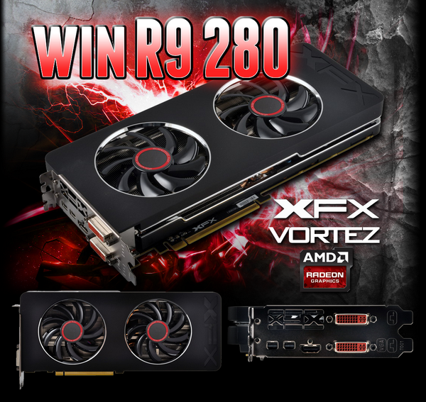 Fancy winning an AMD Radeon R9 280? Don't miss out! http://t.co/54OYyYHRGg @Vortez @AMDRadeon @XFX_PlayHard #280FTW http://t.co/T283c64fwq