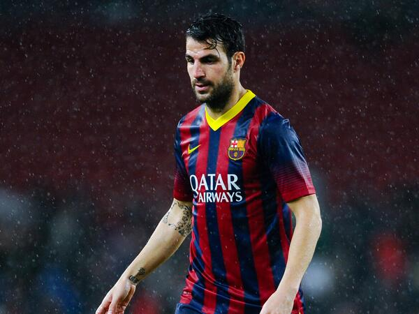 Barcelona nudge Fabregas closer to Chelsea exit; Arsenal the only top team not interested [Guillem Balague]