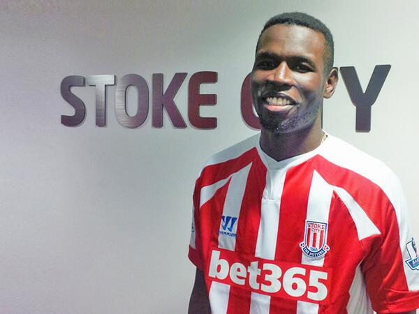 DONE DEAL: Ex Man United striker Mame Biram Diouf has agreed a four year contract with Stoke