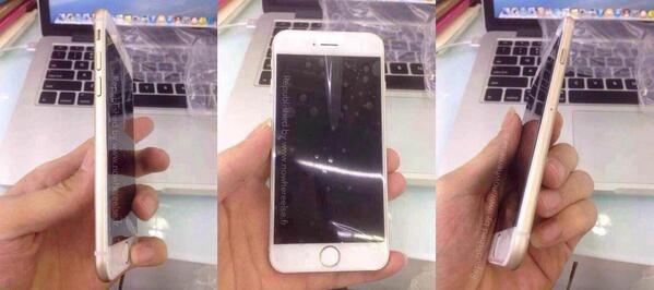 Don't get too much wet, this is just another Dummy… #iPhone6 http://t.co/dG2PSuUdlb