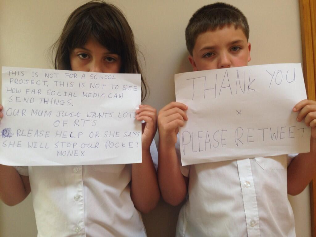 RT @Pandamoanimum: Twitter, please help my kids by retweeting this. Thank you x http://t.co/cACfkzbYbR