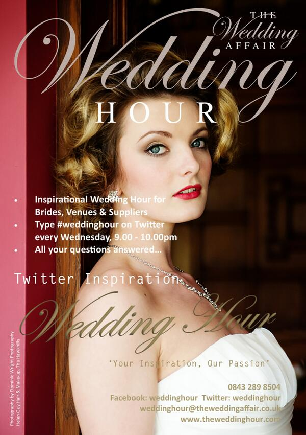 Do you love #weddinghour?  If you do, please help spread the word around the World!  Thanks... http://t.co/QHSYMWdaOr