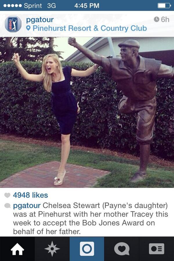 Golf - Payne Stewart's daughter at Pinehurst #awesome #USOpen #Instagram http://t.co/gOzijveo9u
