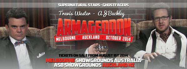 The GHOSTFACERS are coming downunder this October @ajohnbuckley @Westerspace http://t.co/PugAuryuTL