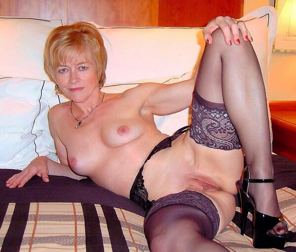gilf stockings horny