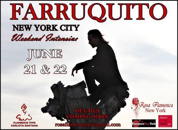 Cartel: Farruquito en Nueva York