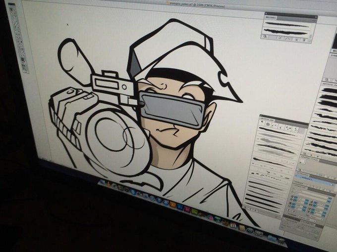 I am going to be a cartoon.  #mompov http://t.co/3oM6F19maM