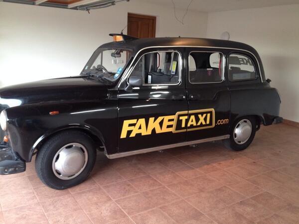 Fake taxi cab