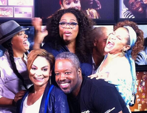 A great day with Oprah on WHERE ARE THEY NOW? #own #adifferentworld http://t.co/fvtMZeKy3O