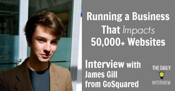 Running a Business That Impacts 50,000+ Websites with James Gill (@jamesjgill) from @GoSquared http://t.co/dNDE10McBL http://t.co/8XX4w7odx8