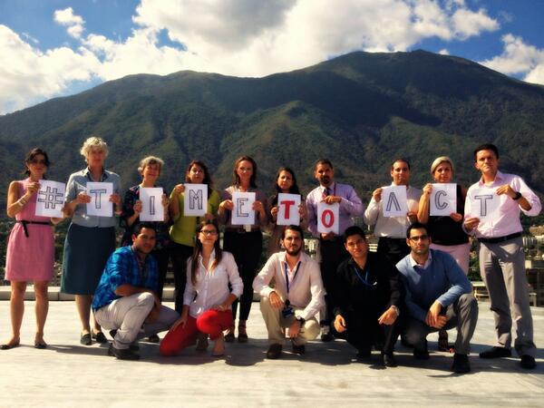 @UKinVenezuela se une a la campaña global #TimeToAct para acabar con la violencia sexual en conflicto @end_svc http://t.co/tqpZJ2pzKH