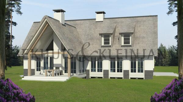 Bekhuis kleinjan bekhuiskleinjan twitter for Modern landhuis