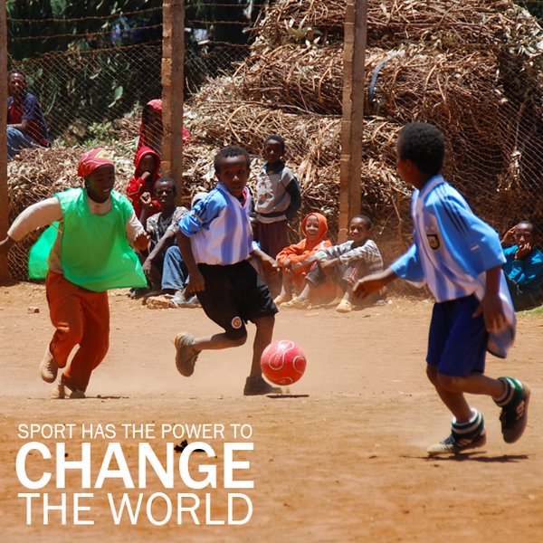 It's #WorldCup time! Let us all be reminded of the power of #SPORT & #PLAY to educate, empower & unite us globally! http://t.co/JQw8jgilNW