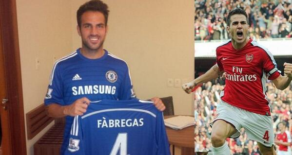 Arsene Wenger irritated by questions over Cesc Fabregas move to Chelsea [Tweets]