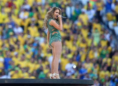 Jennifer López en Brasil 2014