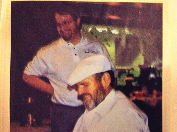 #tbt Me and chef Paul Prudhomme in Sept 2001 at Winstons. #2pauls #chefprudhomme http://t.co/xraRGeppl1