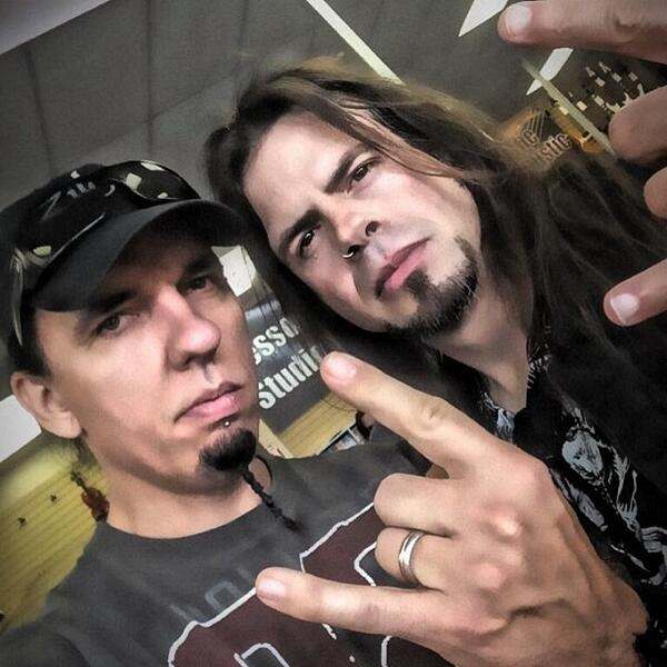 Always great to hang with my buddy #ToddLaTorre... #metal #friends #hornsup #goodtimes #queensryche #caseygrillo ... <br>http://pic.twitter.com/khSmx6VTpD