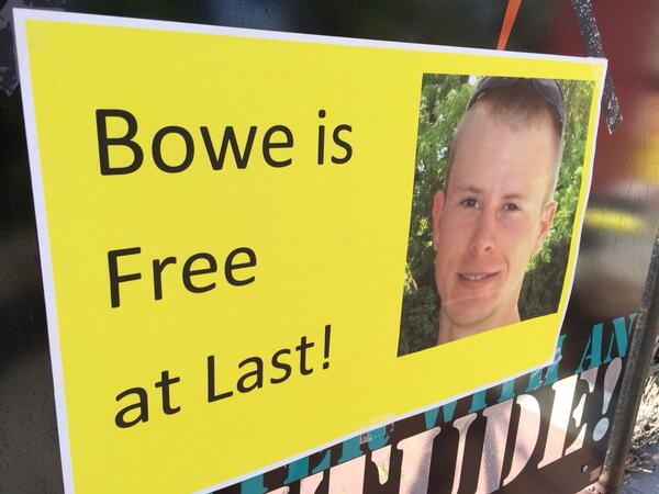 Just arrived in Bowe Bergdahl's hometown in Idaho. The sign says it all. http://t.co/p1VQtbXLHh