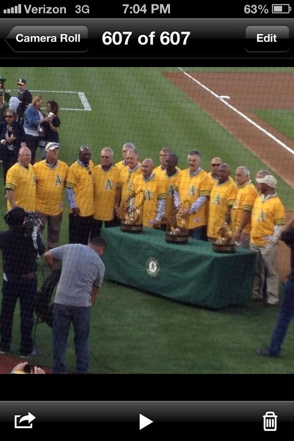 74 Swingin @Athletics last time to win 3 consecutive World Series...#Green #Athletics http://t.co/QIVt3GLXTV