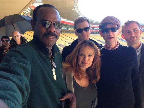 Supernatural selfie! @TheOnlyDJQualls @samanthajferris @MrJakeAbel @japastu @DeliciousNecks #armageddonexpo http://t.co/d9JZKfnwbE