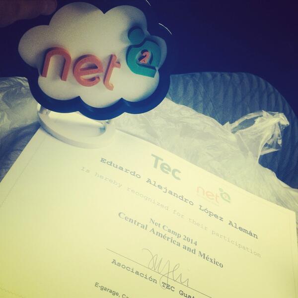 #netsquaredGT  Muy bueno gran experiencia y salimos ganadores http://t.co/MGNxV0JrIK
