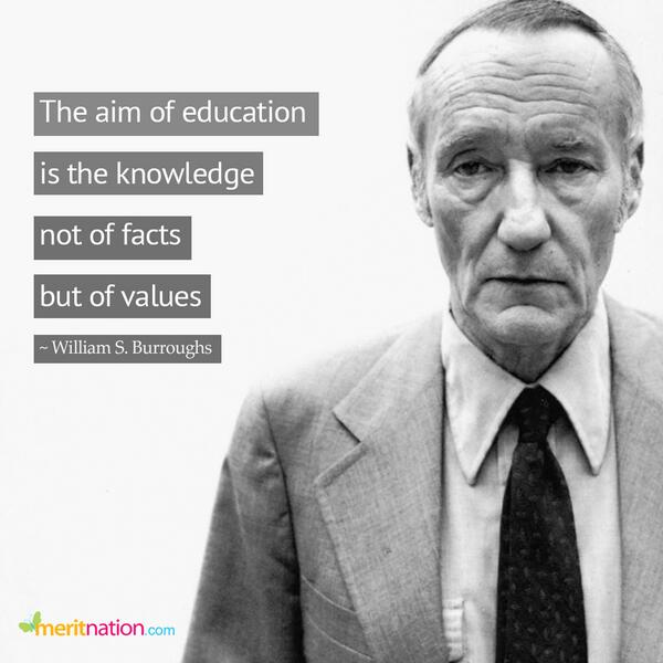 Meritnationcom On Twitter Quote The Aim Of Education Is The