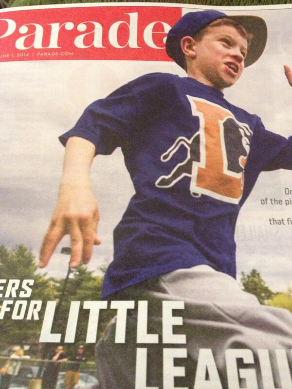 Love for @DurhamBulls on the cover of @ParadeMagazine this morning http://t.co/ckYDwqyNfX