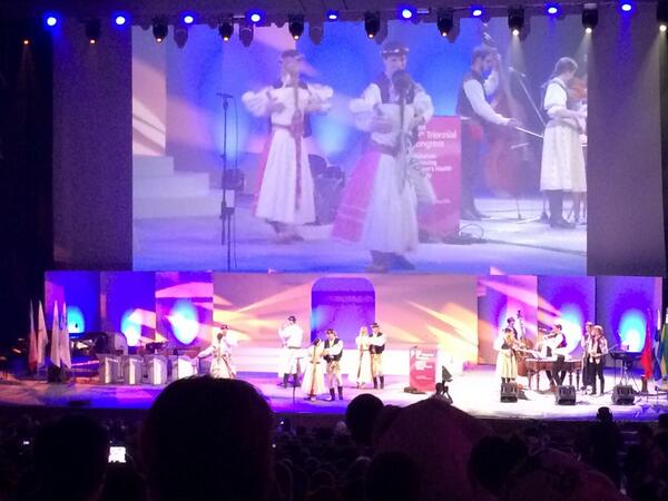 And now for some Czech culture #ICMLive #beautiful http://t.co/5kGawS20zP