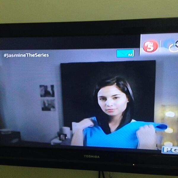 Was able to catch the pilot episode of #JasmineTheSeries @TV5manila