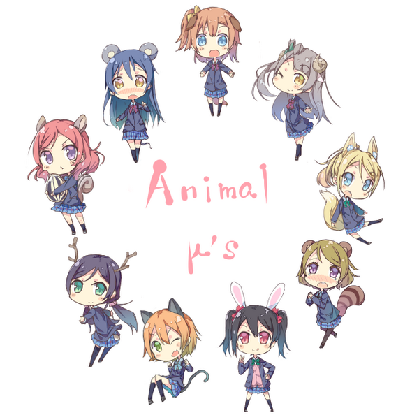 μ's全員描けました http://t.co/8ZUi2RJLKH
