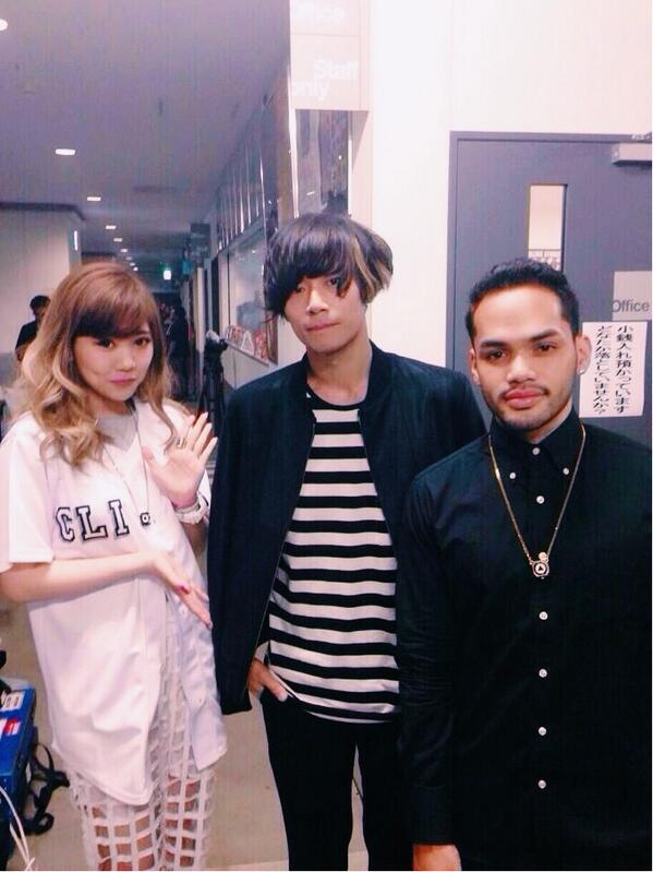 maco x 川上洋平 x matt cab backstage futureiswow mflo