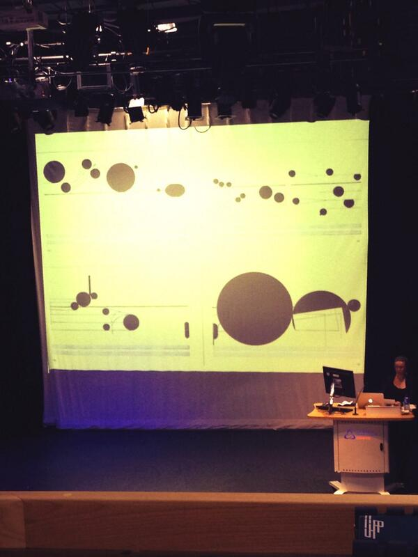 Cardew's 'Treatise' - it's so pretty... #muspro14 http://t.co/jYzudtPypb