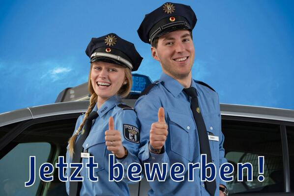 Polizei Berlin On Twitter Nachwuchs Gesucht Bewirb Dich Jetzt
