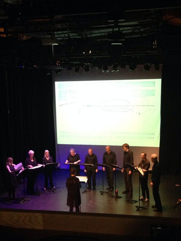 #nowplaying Cornelius Cardew's 'Treatise' by Vocal @Constructivists #muspro14 http://t.co/F9We9rV6sS