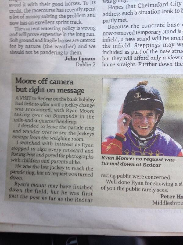 And they say Ryan Moore is miserable ... http://t.co/a4p6oh9KQp