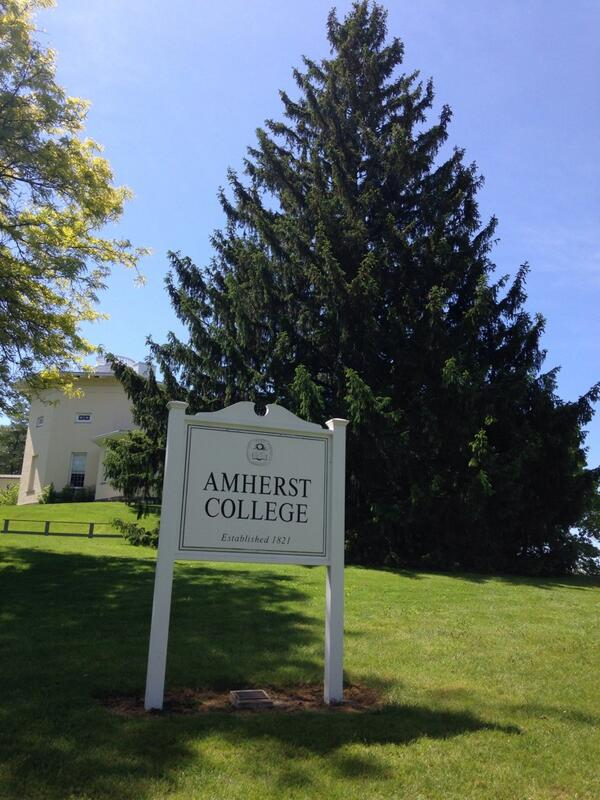 Great weekend at my favorite place in the world with some of my favorite people in the world. #amherstreunion http://t.co/aY6443oBST