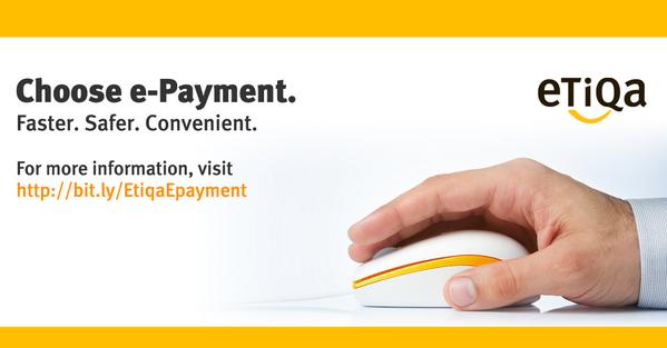Choose e-Payment. Faster. Safer. Convenient. Visit http://t.co/E3vCpW33OZ #etiqa http://t.co/jmLa2KeLFr