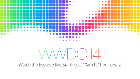Watch #WWDC14 live on http://t.co/ZMbDyyTCsH http://t.co/XH8EhCv4jx