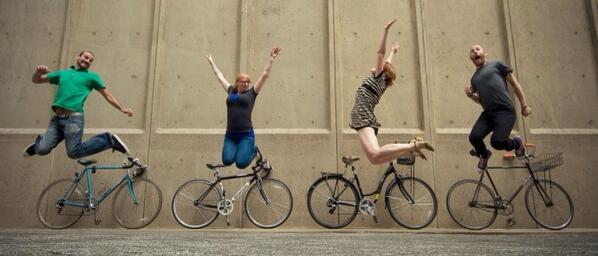 Image result for cycling makes us happy