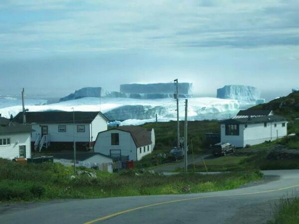 """@susanjanemoore It's the return of the Ice Age near St. Anthony on the Northern Peninsula, Newfoundland. #nlwx http://t.co/jAuVux1uF4"""
