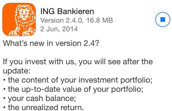 Twitter / evr: Weer mooie update van #ING ...