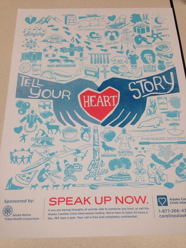 Tell Your Story by @ANTHCtoday #pennalaska14 http://t.co/q4OkxkwJLW