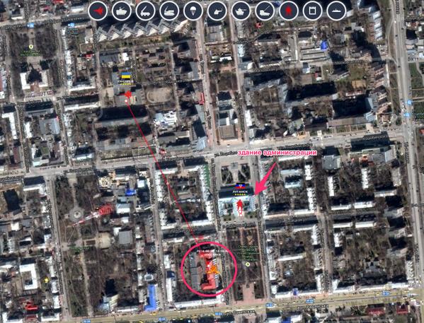 луганск карта города