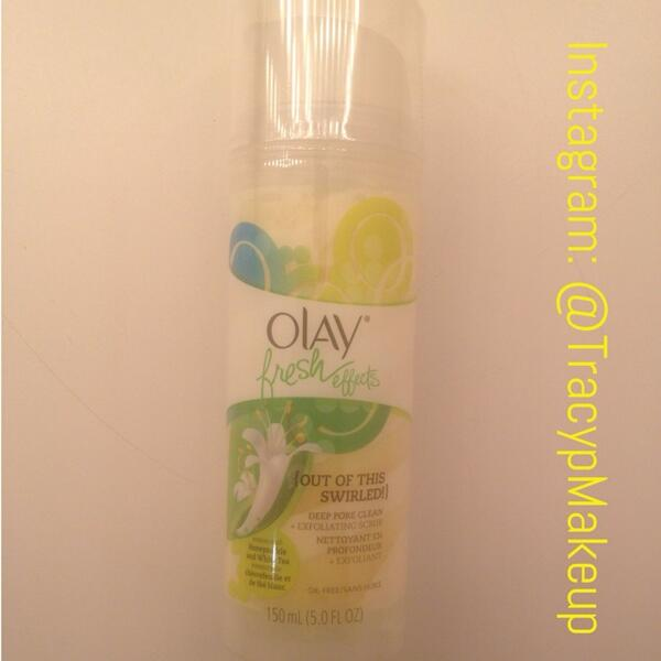 "#WIN this @OlayUS ""Out Of This Swirled"" Deep Pore Exfoliating Scrub! Drawing 5! To enter follow @TracypMakeup & RT! http://t.co/pSkDti1DJv"